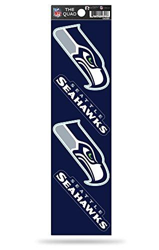 - NFL Seattle Seahawks Quad Decal