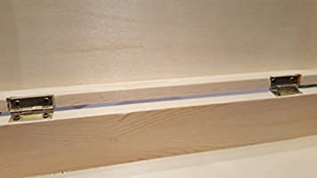 Caja de madera de pino macizo para decorar de 29x21x7cm: Amazon.es ...