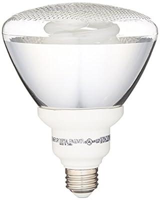 GE Lighting 47483 Energy Smart CFL 26-Watt (100-watt replacement) 1300-Lumen PAR38 Floodlight Bulb with Medium Base, 1-Pack