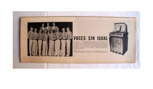 Antigua Hoja Publicidad Revista - Advertising Magazine Old Sheet ...