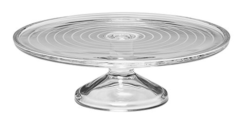 Mikasa Cheers Footed Cake Plate, 11.5-Ounce