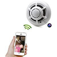 HD Security Camera WIFI Smoke Detector Wireless IP P2P Motion Detection Micro Cam Small Video Camcorder