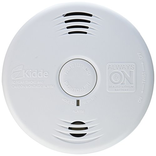 Worry-Free Combination Smoke & Carbon Monoxide Alarm with Lithium Battery P3010CU (Best Photoelectric Smoke Detector 2019)