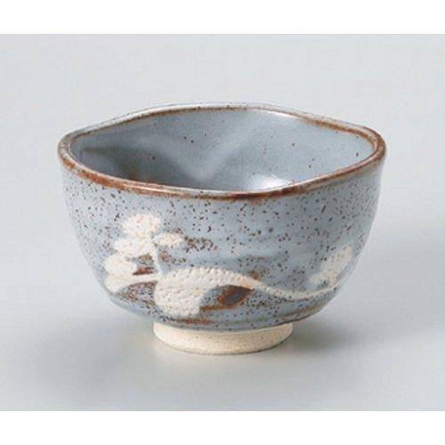 Matcha bowl mouse Shino well Matcha bowl [13 x 7.5cm (450cc)] Tsuchimono strengthening Japanese instrument Liquor restaurant for hotel business