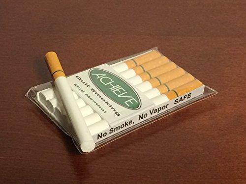 Achieve Quit Smoking Mild Menthol Authentic Feel Fake Cigarettes   Behavior Modification Smoking Cessation Aid ()