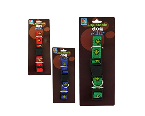 Happy face dog collar Case of 24