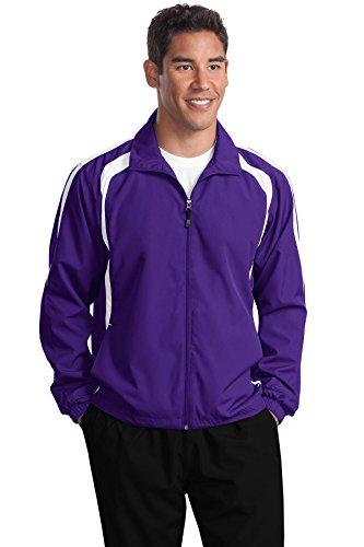 Jacket Raglan Sport white tek Purple Jst60 nbsp;colorblock nbsp;– n7nwfqtSP