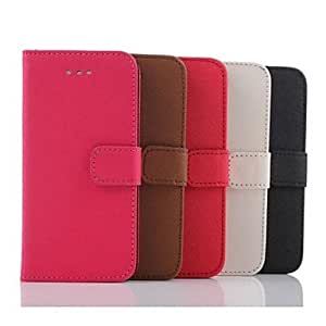 ZXC Elegant PU Leather Full Body Cover with Stand and Card Slot for iPhone 6 Plus (Assorted Colors) , Pink