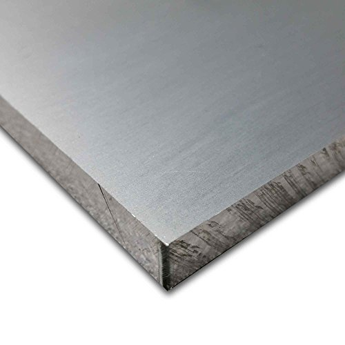 Online Metal Supply 5052-H32 Aluminum Plate, Thickness: 0.250 (1/4 inch), Width: 8 inches, Length: 12 inches -