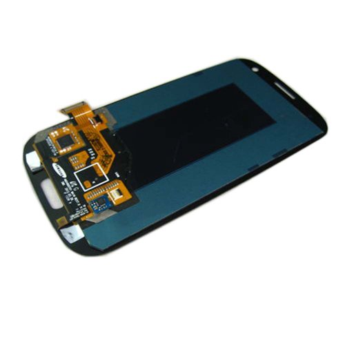 TengFei Genuine OEM Pebble Blue Full LCD +Touch Screen Digitizer Assembly Flex Cable For Samsung Galaxy S3 i9300 att i747 Sprint L710 Verizon i535 T-Mobile T999 (Samsung Galaxy S3 Verizon Lcd)