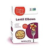 MODERN TABLE, LENTIL PASTA, ELBOWS - Pack of 6