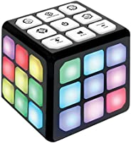 Flashing Cube Brain & Memory Game for Kids – 4-in-1 Electronic Handheld Games for Kids – Gift Toy for Boys