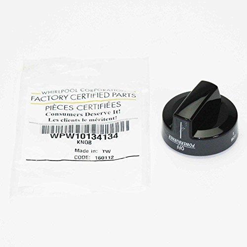 (Whirlpool W10134134 Range Control Knob (Stainless Black))