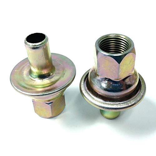 - Pirate Mfg Check Valves for Universal Crankcase Evacuation System Zinc Finish