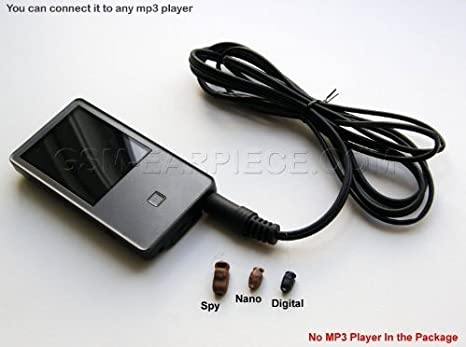 Amazon.com: Invisible Wireless Nano GSM Earpiece MP3 Spy Set for Easy Exams: Cell Phones & Accessories