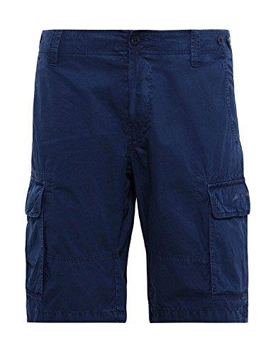 Gant Men's Regular Fit Summer Cargo Shorts Marine 34 by GANT
