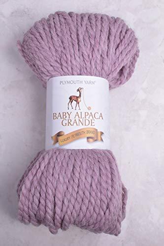 (Plymouth Baby Alpaca Grande 7718 Pink Heather)
