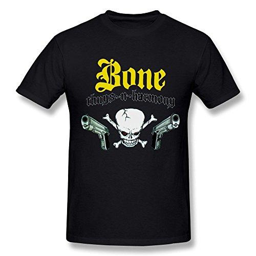 WunoD Men's Bone Thugs-N-Harmony Logo T-shirt Size XXL (First Patriots Tee T-shirt)