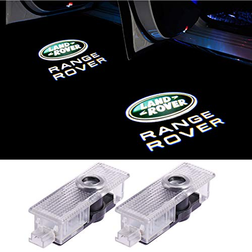 Car Door Led Lights Projector 3D Logo Shadow Ghost Light for Land Rover Range Rover 2010-2015 Compatible Welcome Lamp Accessories 2pcs