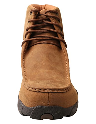 Twisted X Casual Shoes Mens Gomma Suola Punta In Lega Mocs Saddle Mdmal01 Saddle Distressed