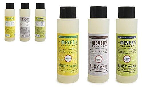 Mrs. Meyers Body Wash,, 16 FL OZ (Variety Pack) - Honeysuckle Variety Pack