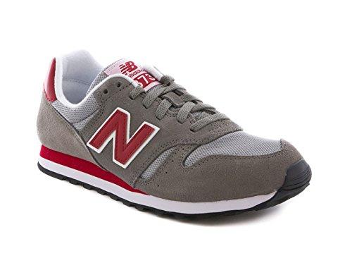 Balance homme gris rouge New D Baskets mode ML373 blanc agXwxqdTp