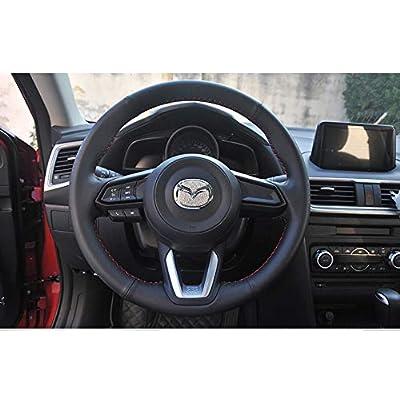 MAXMILO Steering Wheel Bling Crystal Shiny Diamond Accessory Interior Sticker for Mazda cx-4 cx5: Automotive