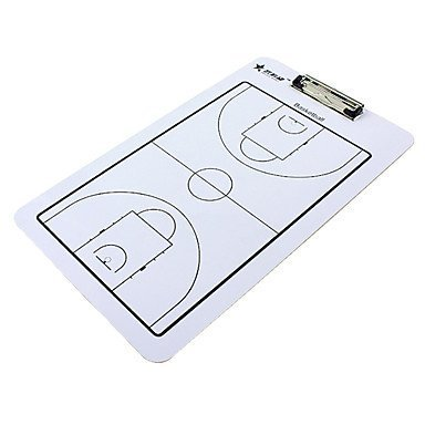 Double-Faced Basketball Coaching Board With 2 Pens & 1 Eraser by BLINKMAX