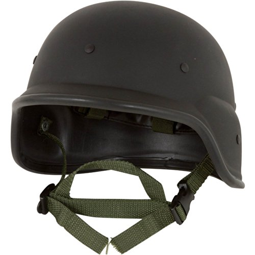 Tactical M88 U.S. Army Replica Helmet - Airsoft Full Head Coverage - BLACK -