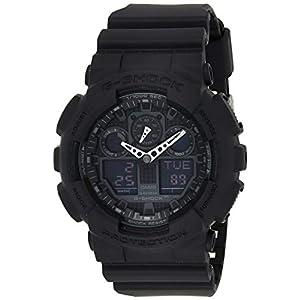 Casio G de shock–Reloj de pulsera para hombre con Analog/Digital de Pantalla y Resin de pulsera–GA de 100 7