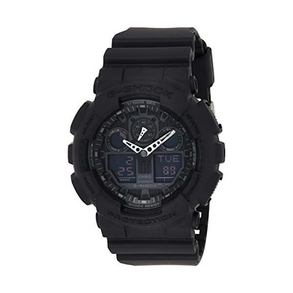 Casio G de shock–Reloj de pulsera para hombre con Analog/Digital de Pantalla y Resin de pulsera–GA de 100 2