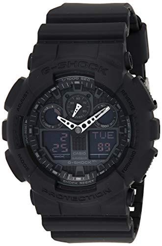 Casio G de shock–Reloj de pulsera para hombre con Analog/Digital de Pantalla y Resin de pulsera–GA de 100 1