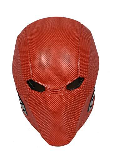 Xcoser Injustice 2 Red Hood Red Resin Helmet Game Cosplay Mask