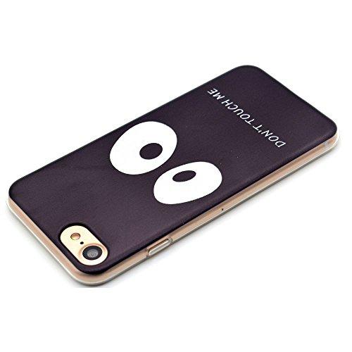 "HYAIT® For IPHONE 7 4.7"" [XXG 17V3]Scratch-Proof Ultra Thin Rubber Gel TPU Soft Silicone Bumper Case Cover -BKI06"