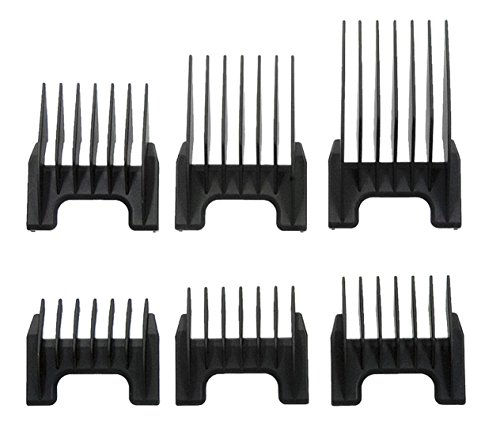 imal 5 in 1 Pet Clipper Attachment Guide Comb Grooming Set #41881-7270 ()