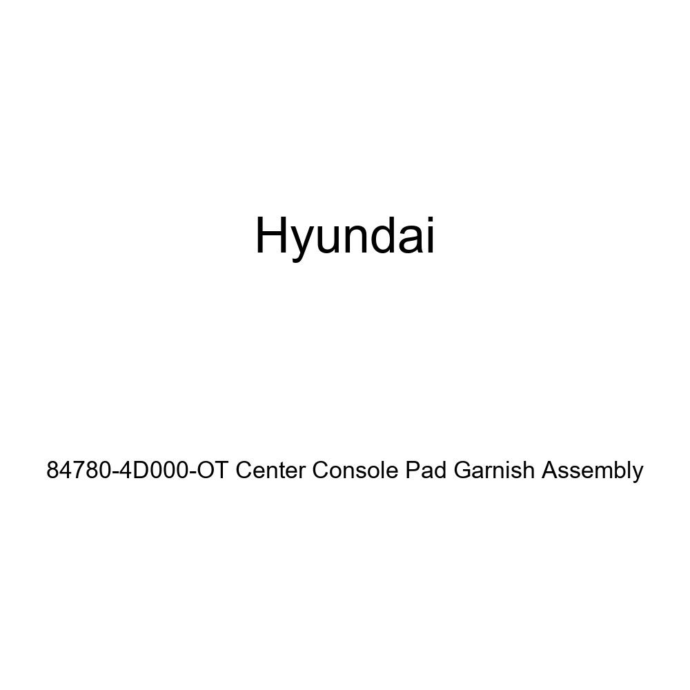 Genuine Hyundai 84780-4D000-OT Center Console Pad Garnish Assembly