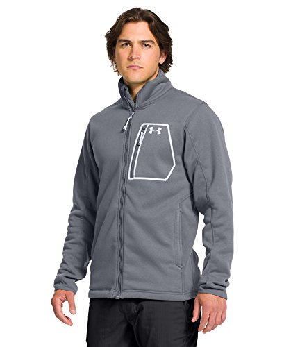 Under Armour Extreme ColdGear Jacket - Men's Steel/White Small