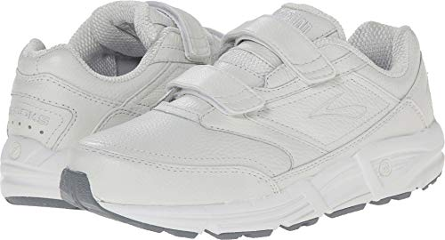 Brooks Women's Addiction, White, 8 D - Wide
