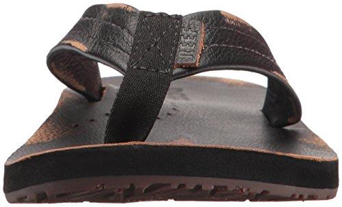 Rif Heren Tekenaars Lux Sandaal Versleten Zwart