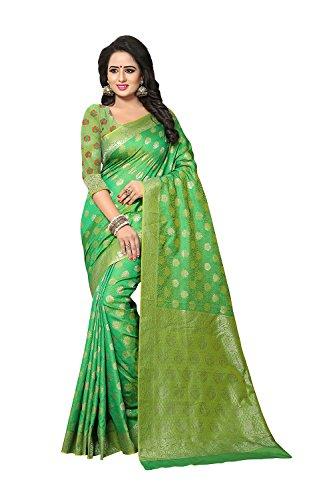 itsindiancrafty Indian Sarees For Women Wedding Designer Party Wear Multi Color Sari by itsindiancrafty