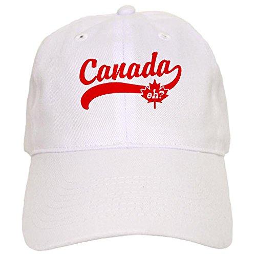 CafePress Canada eh? Cap - Standard White