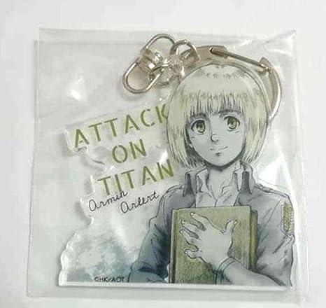 Attack on Titan Acrylic Keychain Strap Charm Mikasa Ackerman Kuji Hajime Isayama