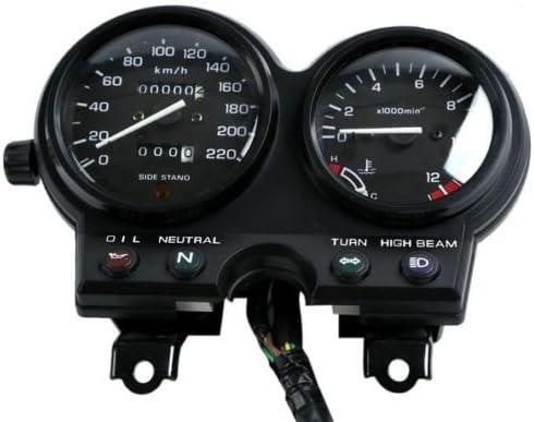 Honda CB 500 KM//H Aftermarket Instrument Cluster Black Gauge Faces
