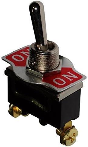 AERZETIX Interrupteur commutateur /à levier DPDT ON-ON 10A//250V 2 position