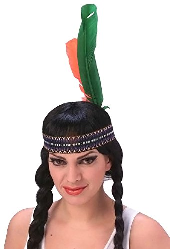 [Rubie's Costume Co Men's Native American Headdress, Multi, One Size] (Male Indian Costumes)