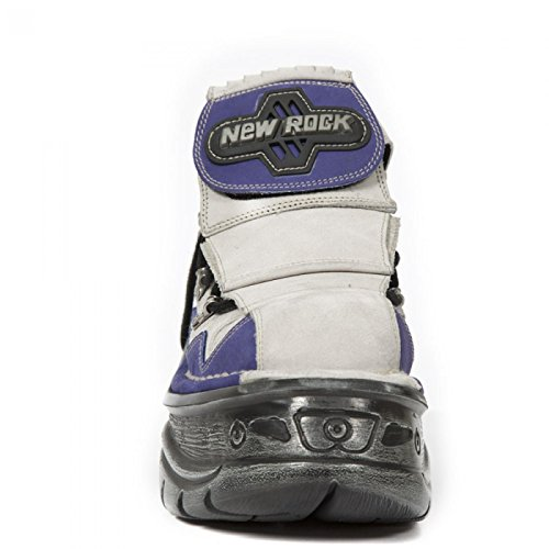 Nieuwe Rock Handgemaakte M 1075 C17 Lila Unisex Sneeker