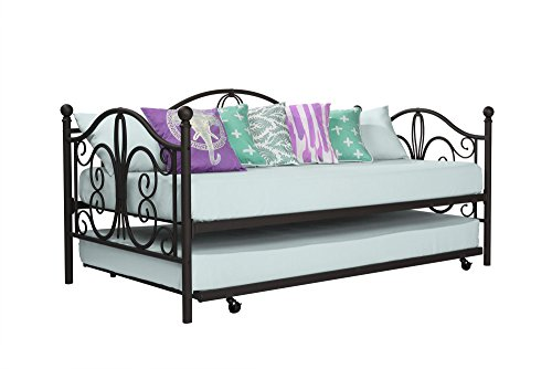 DHP 4040059 Bombay Daybed and Trundle Metal, Twin, Bronze