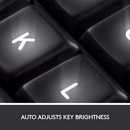 Image of Logitech K800 Wireless Illuminated Keyboard — Backlit Keyboard, Fast-Charging, Dropout-Free 2.4GHz