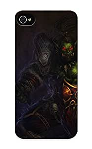 Top Quality Case Cover For Iphone 5/5s Case With Nice World Of Warcraft Wow Orc Warrior Games Fantasy Appearance