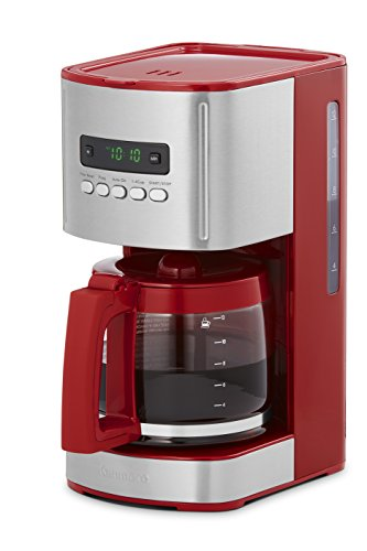 Kenmore 40707 12 Cup Programmable Coffee Maker in Red